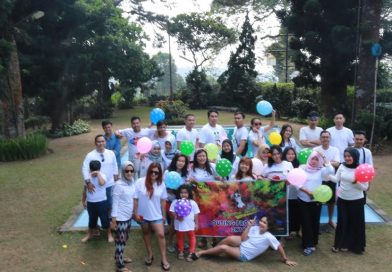 Kemeriahan Team Marketing di Outing Program 2019