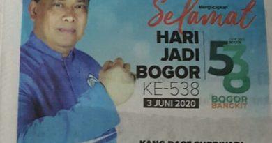 Dace Supriadi: HUT 538 Bogor, KWB Harus Menjadi Agen Perubahan