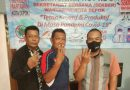 Wartawan Garut Hadiri Hut 3 Sekber Wartawan Kota Depok