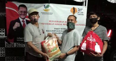 Sekber Wartawan Depok Mengapresiasi Bansos YPJI