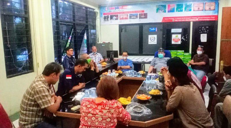 Buka Bersama, Pokja Wartawan Kab. Bogor Bahas Kepemimpinan Mendatang