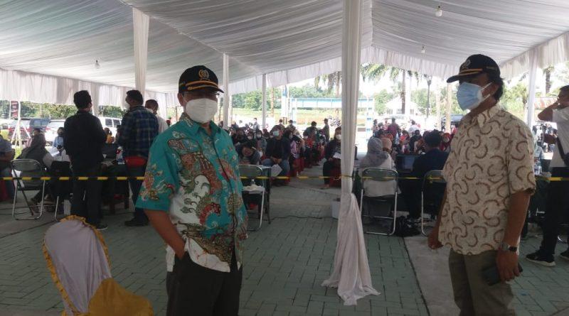Giat Vaksinasi Di Kahuripan Diapresiasi Anggota DPRD Kab. Bogor Irvan Baihaki