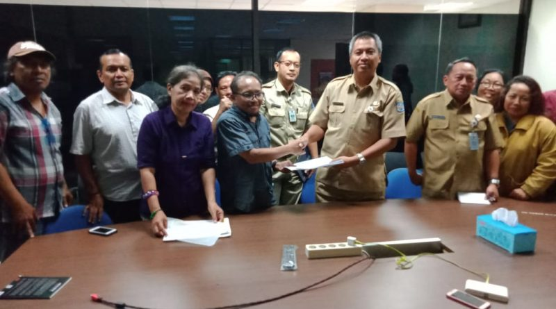 Panitia Silaturahmi Sekber Wartawan Se-Kota Depok Diterima Kadis Kominfo