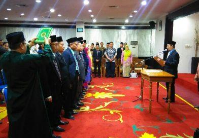 Bawaslu kota Depok lantik 11 Kepala Sekretariat Panwas Kecamatan Depok