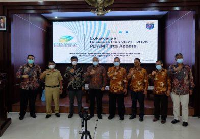 PDAM Depok Gelar Lokakarya Business Plan 2021-2025